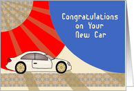 Congratulation On Your New Car card