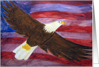 Bald Eagle - Spirit of America Painting card