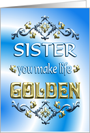 Sister's Day Sister card