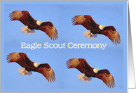 Eagle Scout Recognition Ceremony Invitation card