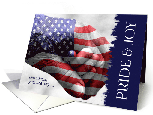 for Grandson Birthday Military Pride and Joy card (1385030)