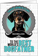 from the Dog Fun Father's Day Dogfather Theme with Pet's Photo card