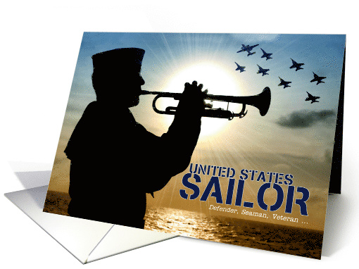 United States Sailor Navy Veteran Thinking of You card (1626754)