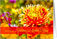 Life Partner on Mother's Day Wildflower Garden card