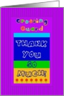 Crossing Guard, Thank You card
