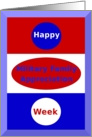 Happy Military Family Appreciation Week card