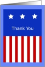 Thank You, Patriotic Graphic card