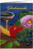 German,Gluckwunshe, Congratulations! card