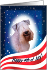 July 4th Card - featuring a Sealyham Terrier card