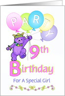 9th Birthday Invitations From Greeting Card Universe
