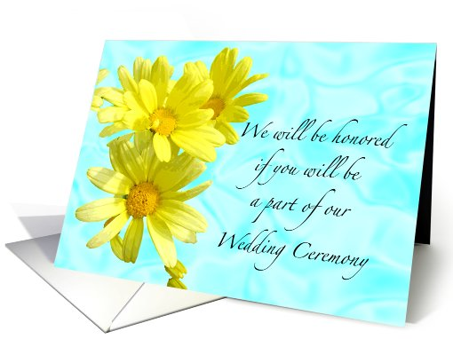 Will You Be a Part of Our Wedding card (456893)