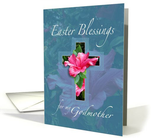 Easter Blessings For Godmother card (558009)