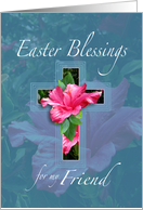 Easter Blessings For Friend card