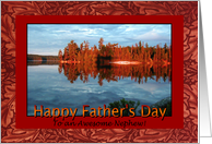 Father's Day Sunrise for Nephew card