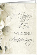 15th wedding anniversary messages