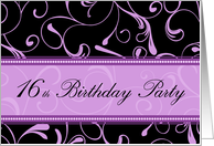 th birthday invitations from greeting card universe, Party invitations