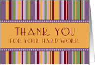 Happy Administrative Professionals Day - Colorful Stripes card