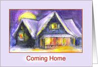 coming home/horisontal card