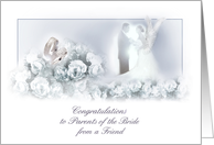 congratulation to parents of the bride card