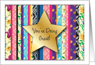 Encouragement for Pastor's Wife, star card