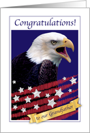 Congratulations, permanent resident, grandfather, USA, eagle card