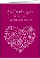 Feel Better from Endometriosis Surgery, heart card
