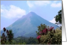 Volcan Arenal card
