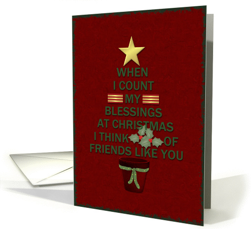 Christmas Blessings card (468718)