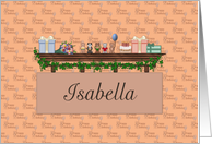 Birthday Isabella card