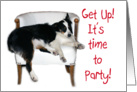 Get up! Let's Party! card