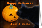 Happy Halloween Aunt & Uncle card