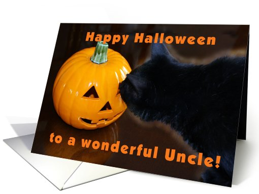 Happy Halloween Uncle card (476916)