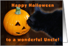 Happy Halloween Uncle card