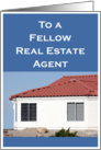 Red Roof Fellow Real Estate Agent card