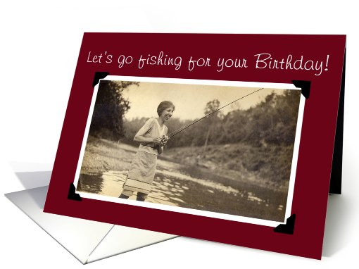 Fishing for your Birthday card (493520)