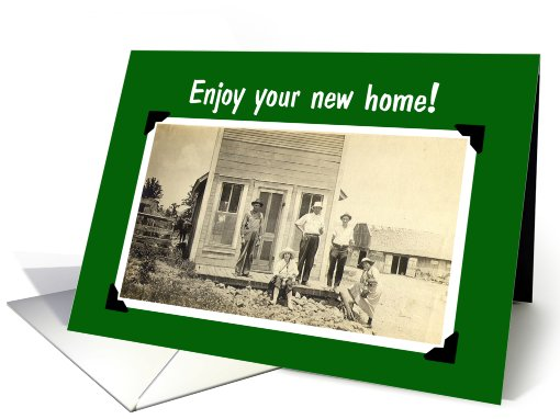 Enjoy your new home card (493523)