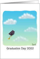 Graduation Day 2021 Congratulations Graduate Solo Cap card