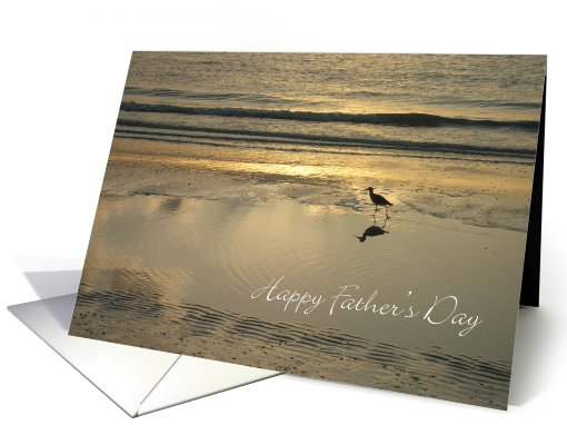Happy Father's Day - Sand Piper card (817027)
