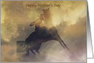 Barrel Racer Happy Mother's Day Card