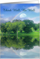 Think Well, Be Well Get Well Card