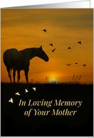 Sympathy Loss of Foster Mom, Foster Mother Sympathy card