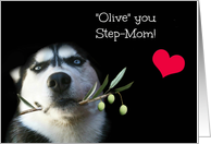 Happy Mother's Day for Step-Mom, I Love You Step-Mom card