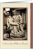 Easter Across the Miles - The Pieta card