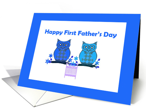Happy First Father's Day card (1367940)