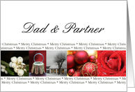 Dad & Partner - Merry Christmas collage card