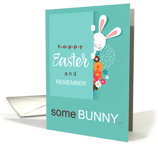 Some Bunny Loves You Easter card (1669780)