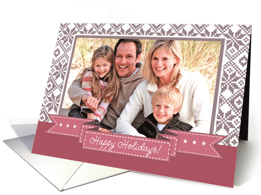 Happy Holidays From Our Home to Yours. Christmas Photo card (1333304)