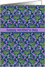 Violets, Mother's Day Card