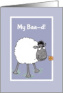 Cute Sheep, My Baa-d, Sorry, Apology Card