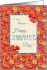 Icelandic Poppies Grandparents Day Card, Mother card